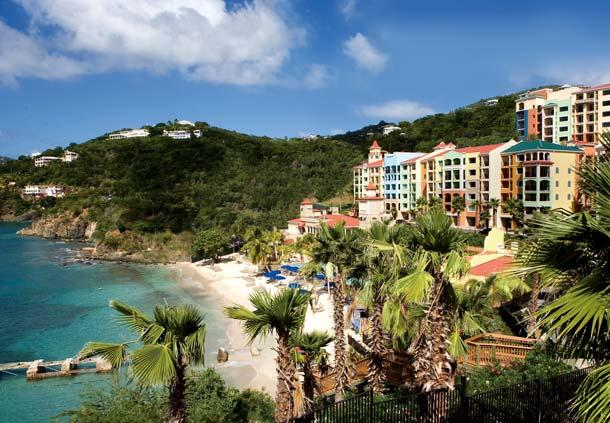 Overview of Resort and Bay - Marriott Frenchman's Cove 2 bedroom villa - Charlotte Amalie - rentals