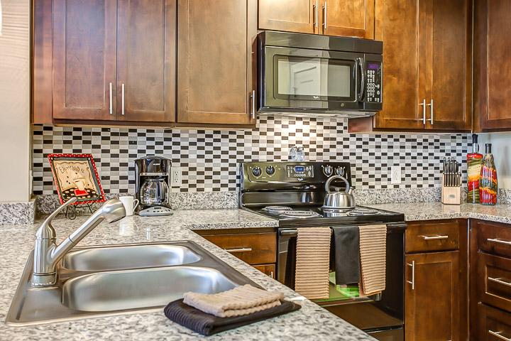 Stay Alfred Nashville Vacation Rental Kitchen - Exquisite 11th Avenue Apartment by Stay Alfred - Nashville - rentals
