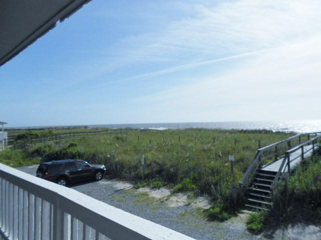 Unobstructed Ocean views.  View north from deck. - Winds I 1B 118510 - Carolina Beach - rentals