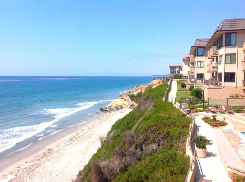 Stunning Ocean Views from Oversize Communal Patio - Del Mar Clifftop 2Bed/2Bath ~ Private Beach Access - Del Mar - rentals