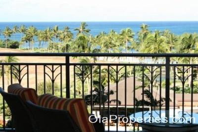 Lanai with Ocean & Pool Views - Beach Villas OT-603 - Kapolei - rentals