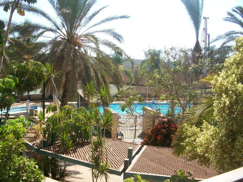 Balcony view - 2 BR Modern Apt  with Balcony,Pool &Gym:W. Raanana - Ra'anana - rentals