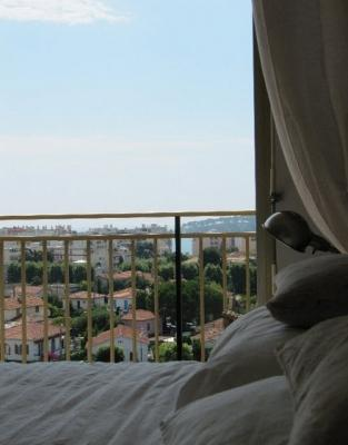 First Bedroom - Large Elegant Penthouse Apartment W/ Giant Terrace - Cannes - rentals