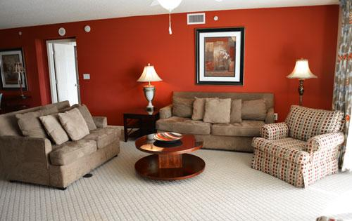 Plush seating and balcony access in living room - Fantastic 4BR @ Barefoot, WiFi/pools/more! YC2-304 - North Myrtle Beach - rentals