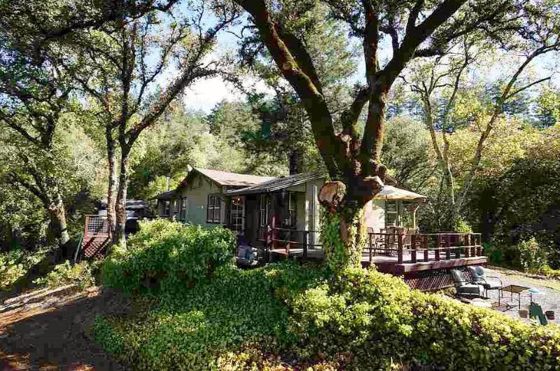 Charming 1950s cottage on 3+ acres just above the Dry Creek Valley - Dry Creek Vista - Healdsburg - rentals