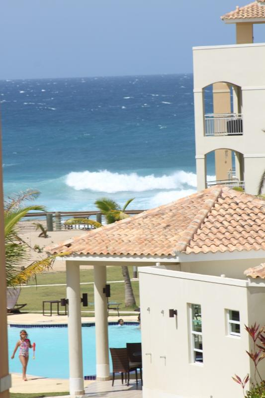 View from Deck - Hermosa Villa, Penthouse a Shacks/Jobos Beach - Isabela - rentals