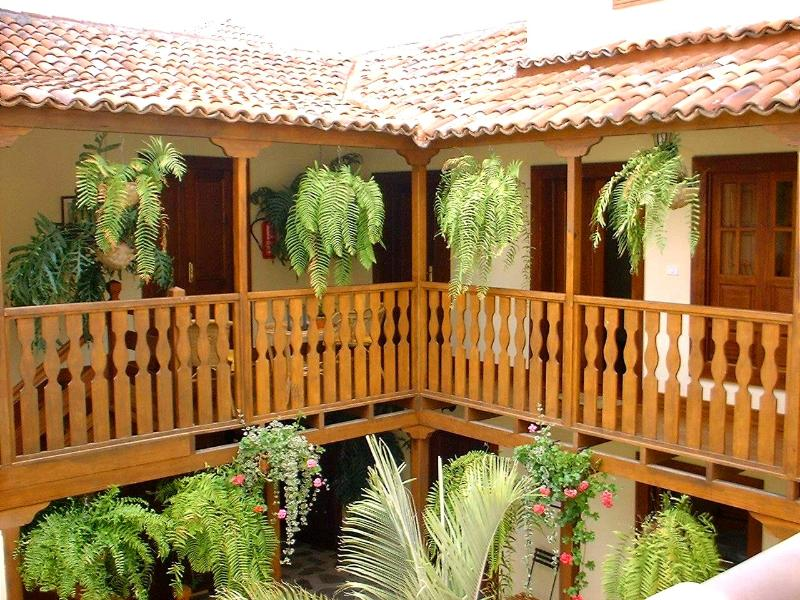 Patio - Casa Rural los Helechos Studio 5 Towerroom - Agulo - rentals