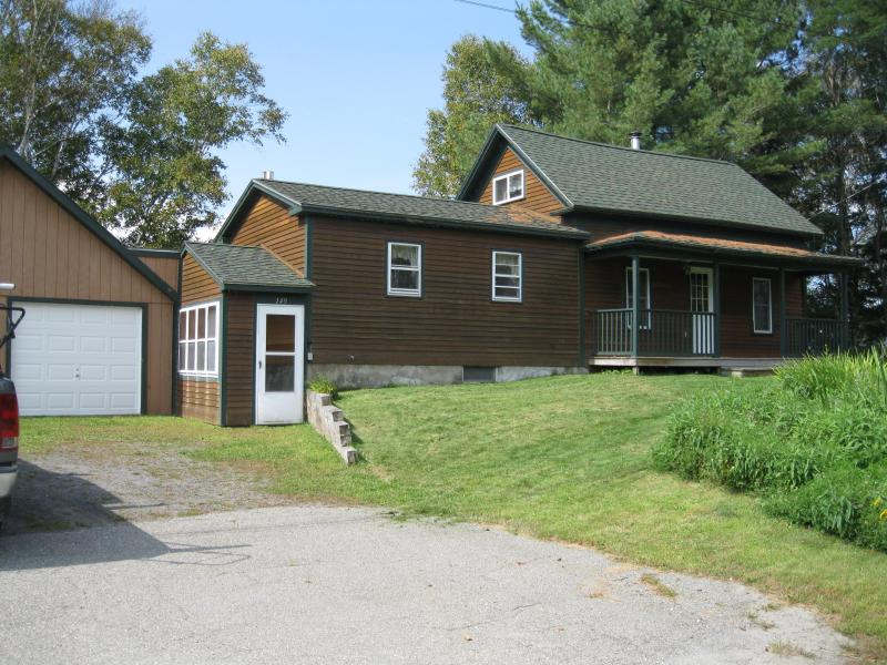 front of house - Four season lake front house on Island Pond - Island Pond - rentals