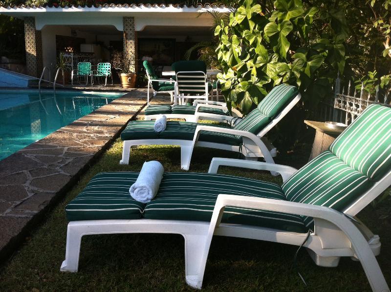 Pool View - Vintage Villa Amecameca w/ Pool, Tropical Gardens & Best Location - Cuernavaca - rentals