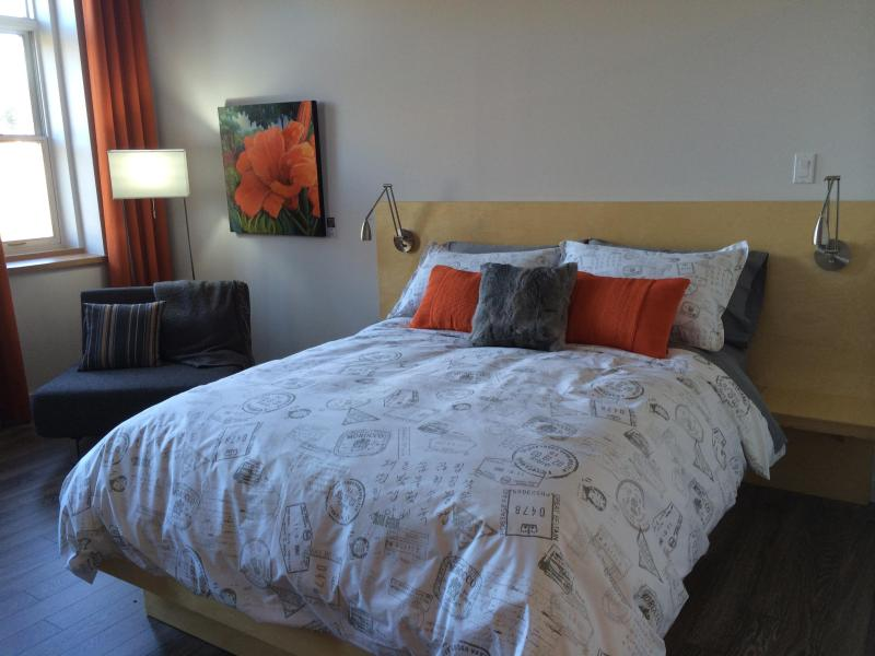 Bed - Magnificient suite, 20 minutes from Québec city ! - Vallee-Jonction - rentals