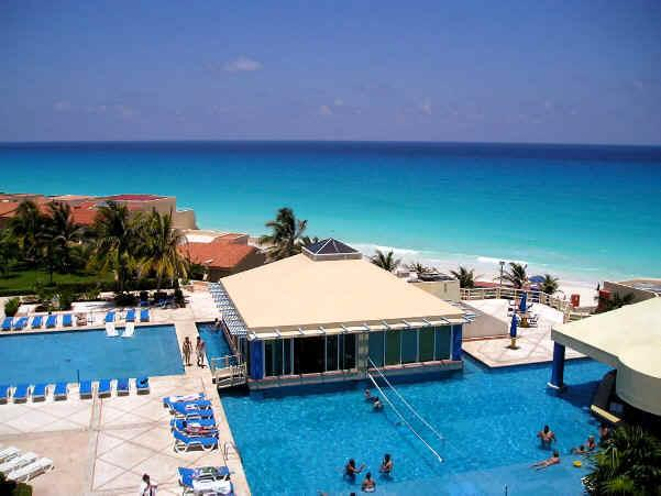 THIS GREAT VIEW FROM THE UNIT !! - 2 BEDROOM PENTHOUSE ON THE BEACH WITH A GREAT VIEW - Cancun - rentals
