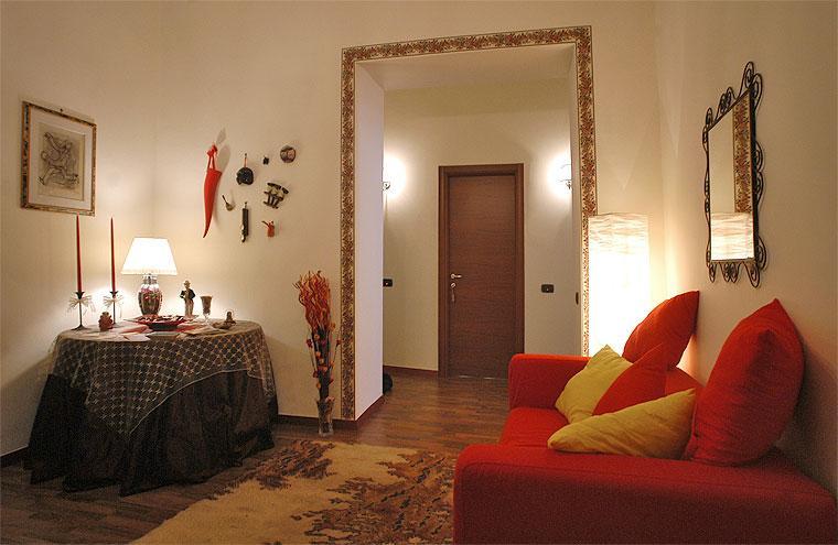 Ingresso - Soggiorno - B&b Napolibed - Naples - rentals