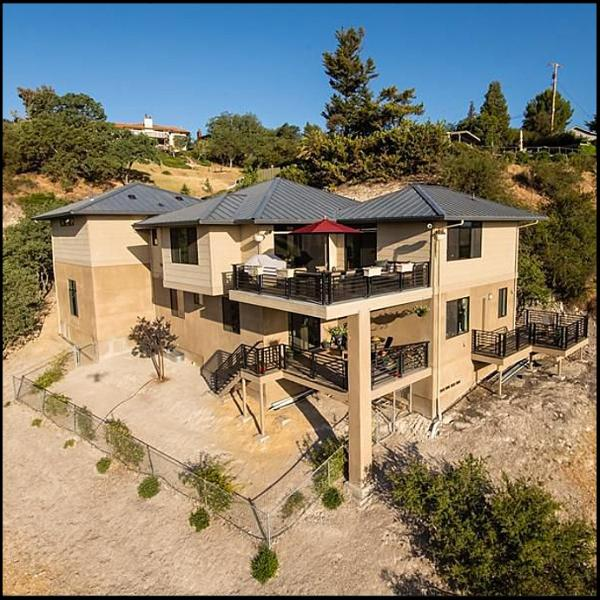 Hilltop365. From the Air - Hilltop 365 -  Luxury Above Downtown Paso! - Paso Robles - rentals