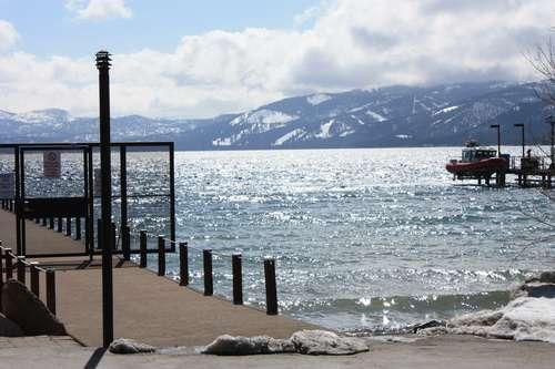 Private pier beach just steps away - Boat House lakeview beach hot tub pool monthly ok - Tahoe City - rentals