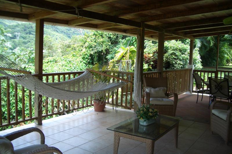 Terrace - Casa Campo Jayuya - Jayuya - rentals