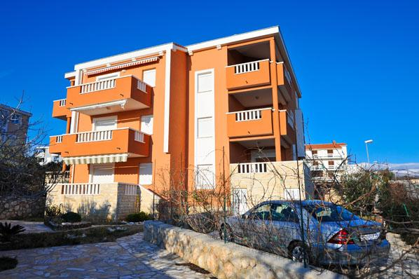 Apartment Jenny 3 for 6 persons on the second floor with great sea view in - Image 1 - Novalja - rentals
