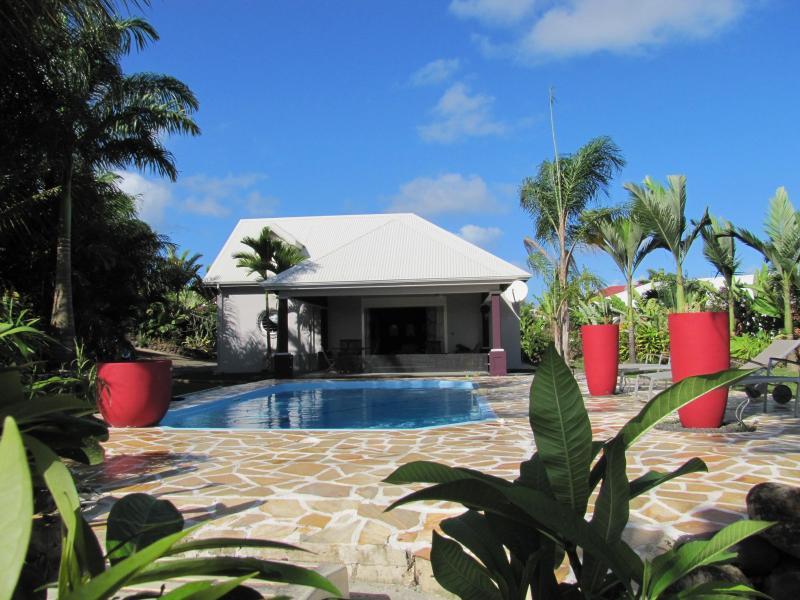 Grande villa , 8/10 pers, piscine, A/C, WIFI, TV - Image 1 - Sainte Rose - rentals