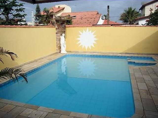 Piscina - Casa a 100 mts da praia ao lado da colônia de férias do táu - Itanhaem - rentals