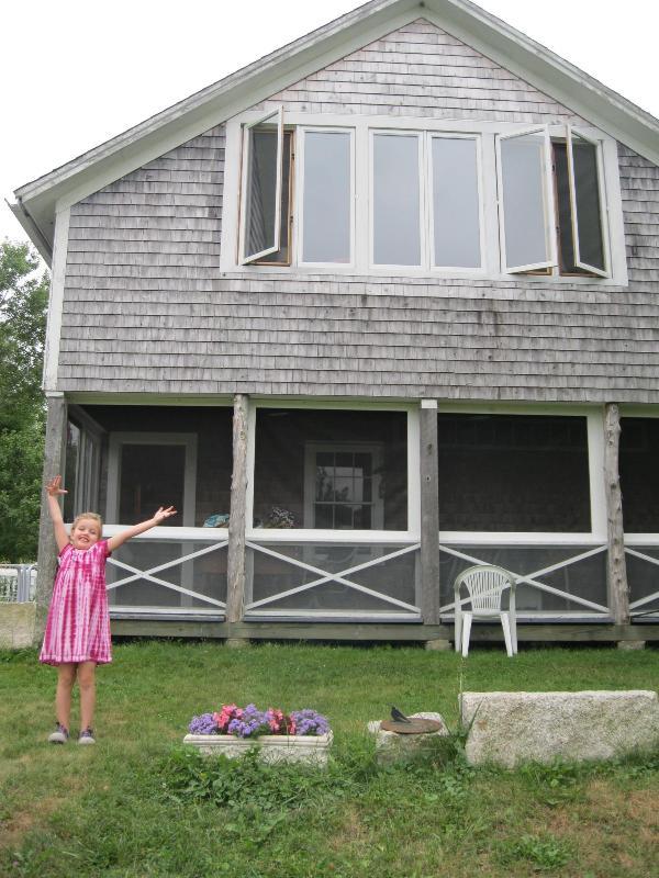 Salt Water Farm Cabin, Organic waterfront - Image 1 - Brooksville - rentals
