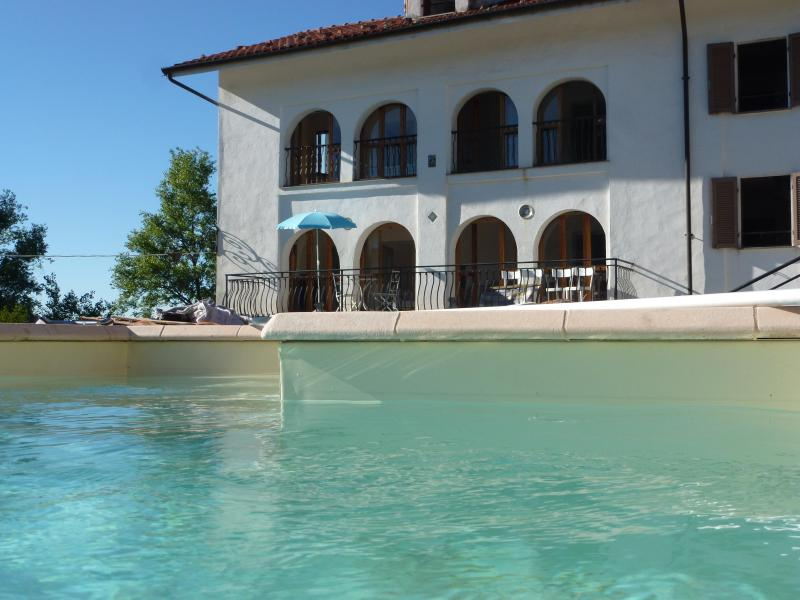 View from Pool - Villa Cadenza with pool - Murazzano - rentals