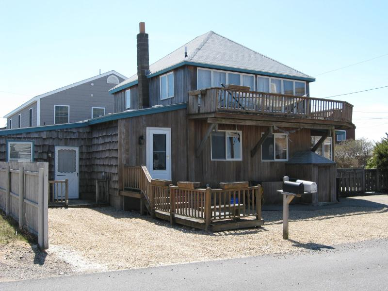 Front exterior - 58th St. side - Plum Island, Newburyport, MA house winter rental - Acushnet - rentals