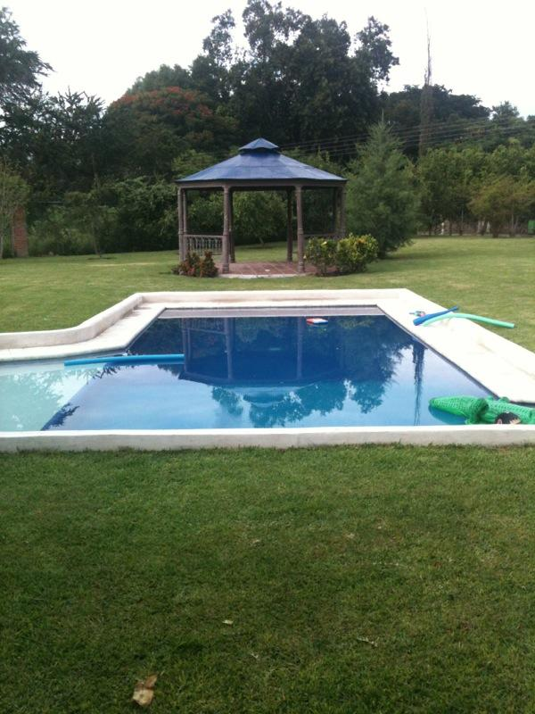 Swiming pool and kiosk - Beautiful house surrounded by nature in Ticumán Morelos - Tlaltizapan - rentals