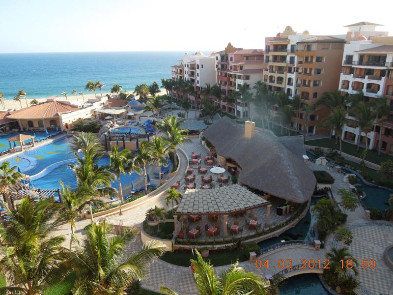 View from Balcony to pool and Pacific Ocean - Cabo San Lucas Finest, Playa Grande Resort, Walk t - Cabo San Lucas - rentals