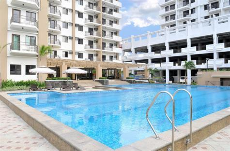 Swimming Pool - Elegant Studio Furnished Unit For Rent Nr Global - Taguig City - rentals
