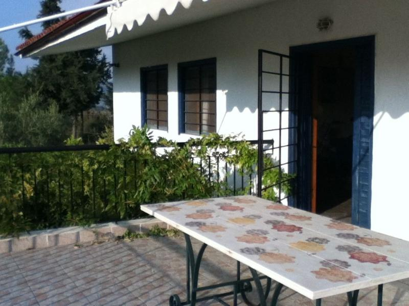 Balcony - Lovely Cottage in Chalkidiki, Greece - Kalandra - rentals