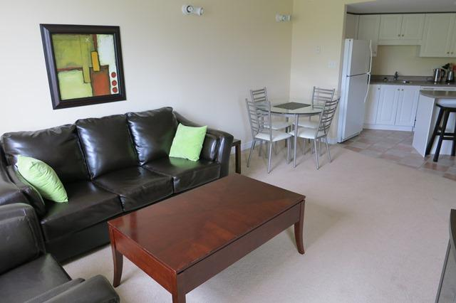 Living Room - Modern, Bright Downtown Suite - Halifax - rentals