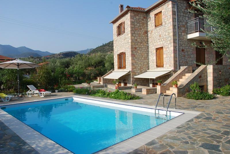 Property external view - Eleonas Houses - Kardamili - rentals