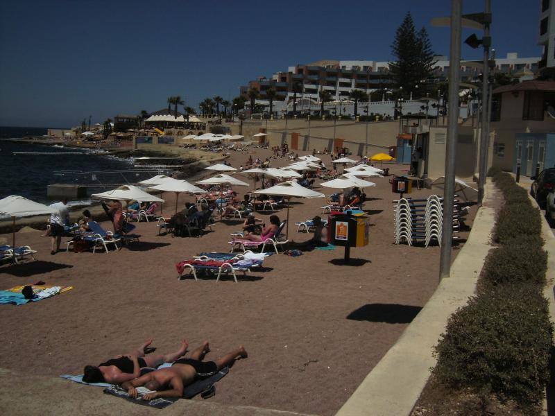 Beach in Bugibba- 5 mins walk - Superb Location, Sea View, Alfresco Sun Terrace - Bugibba - rentals