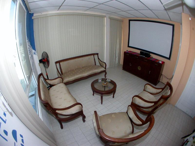 Living room - Spacious & Well Ventilated Apartment by the Beach. - Salinas - rentals