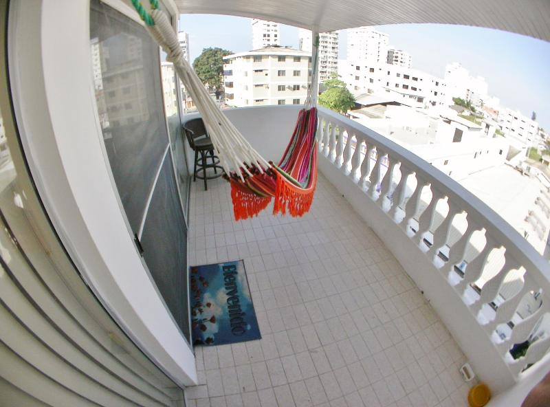 Big Balcony with Sky view - Spacious & Well Ventilated Apartment by the Beach. - Salinas - rentals