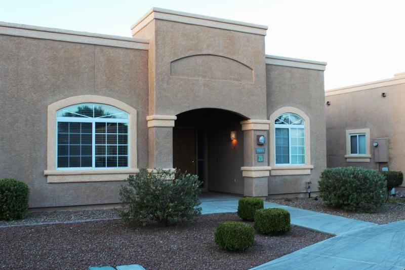 Curb View of Our Property - Upscale Studio Apartment in a Southwest Resort - Green Valley - rentals