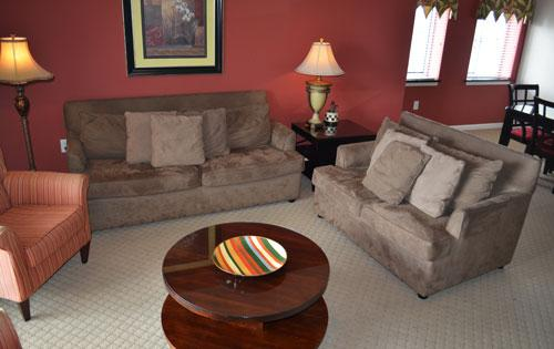 Spacious living area - Vacation in style at Yacht Club 3BR! 3-605 - North Myrtle Beach - rentals