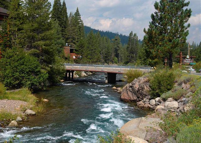 Near Alpine Meadows - Alpine Meadows River Run Condo - Beautiful Riverfront Condo Vacation Rental - Lake Tahoe - rentals