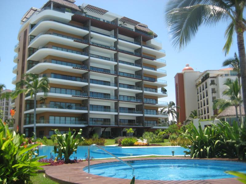 View of the building - Personal Paradise in Puerto Vallarta, Mexico - Nuevo Vallarta - rentals