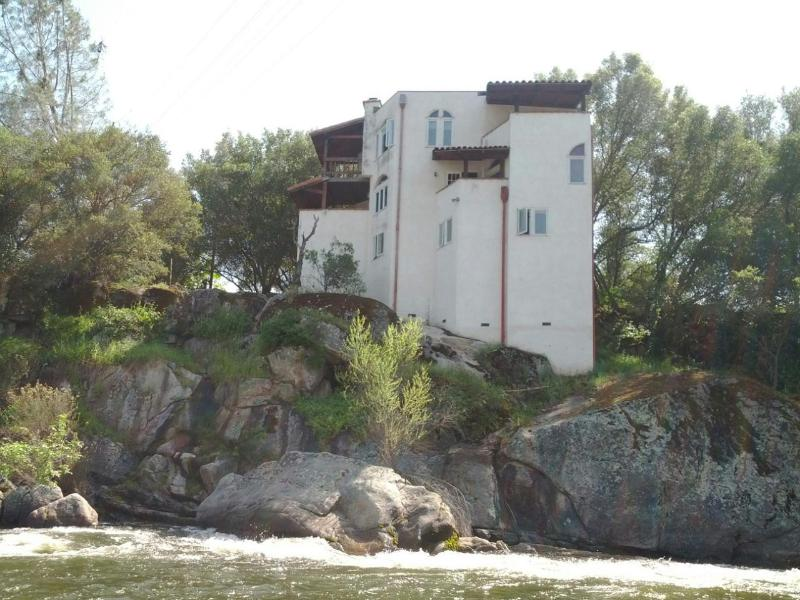 view from across river - White Castle Riverfront House - Three Rivers - rentals