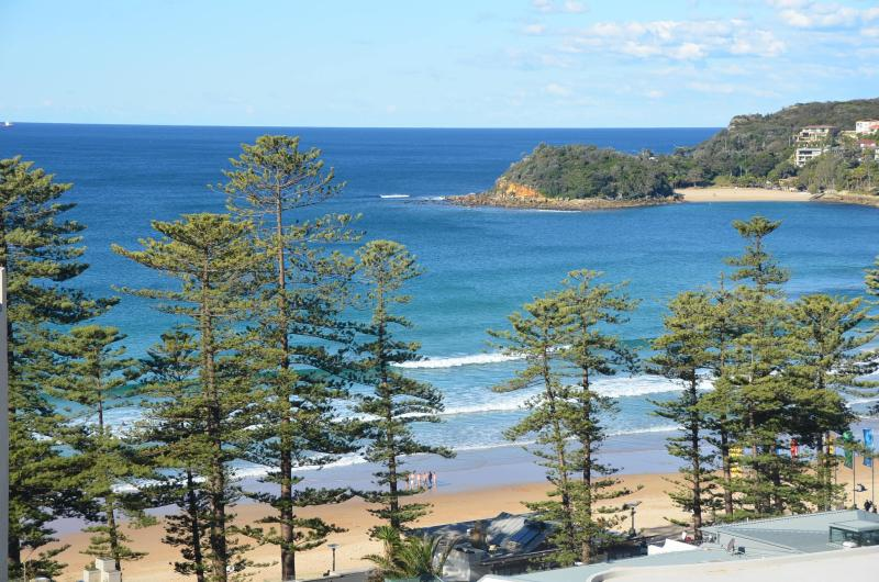 Actual view from apartment where you can see the waves crashing on the beach - Manly Seaside Bliss - Manly - rentals