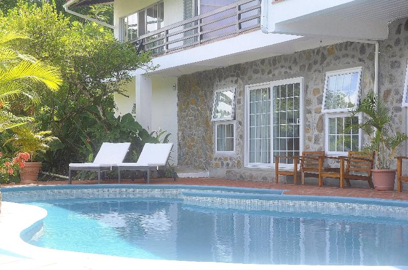 entrance Clarance studio - The luxury Clarance Studio at Marigot Palms - Marigot Bay - rentals