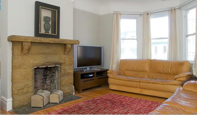 Living Room - Mission Dolores 3 Bedrm near, parks, transit, food - San Francisco - rentals