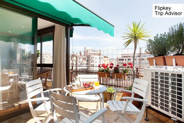 Terrace - Sagrada Familia penthouse - Barcelona - rentals