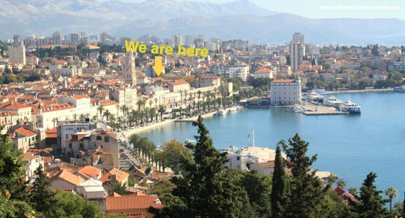 Split center apartment 2 just 3 min away from sea - Image 1 - Split - rentals