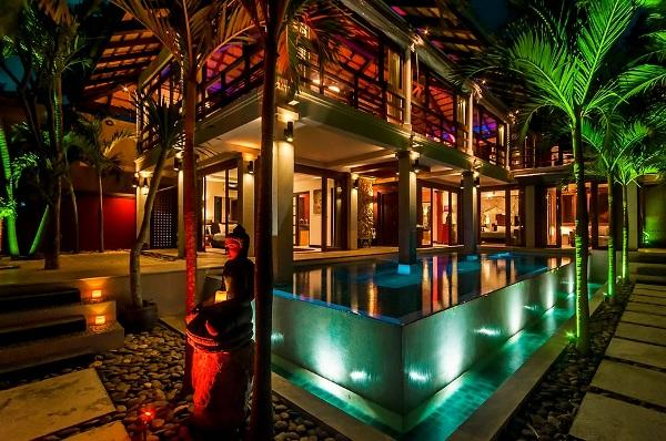 Stunning View by Night - LUXURY, SEAVIEW, BEST LOCATION, BOPHUT HILLS - Mae Nam - rentals