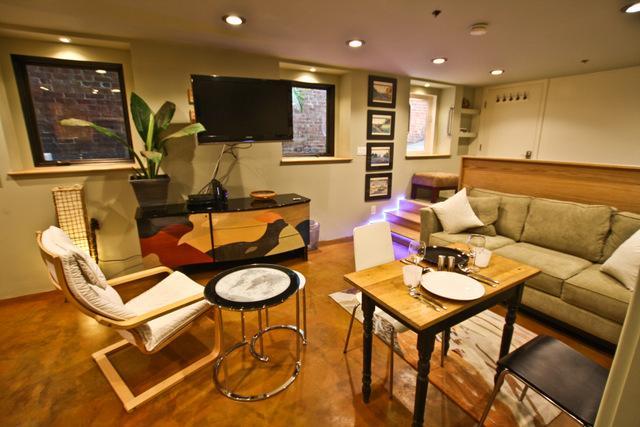 Living room - Alamo Square Studio - San Francisco - rentals