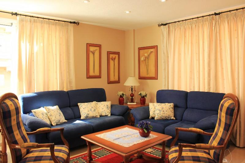 Living room - Stylish 3-bedroom apartment near Lago Martianez - Puerto de la Cruz - rentals