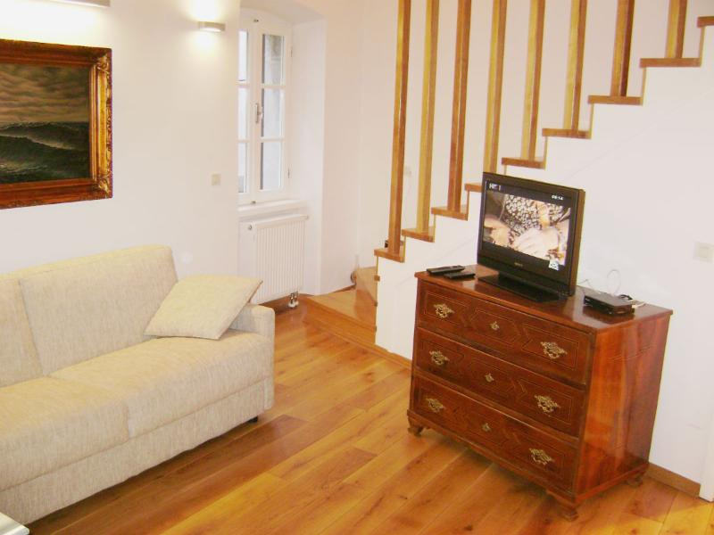 Living room - Apartment in a Stone House in Cres - Cres - rentals