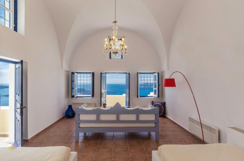 Astraea House Amazing Volvano View Sleeps 8! - Image 1 - Fira - rentals
