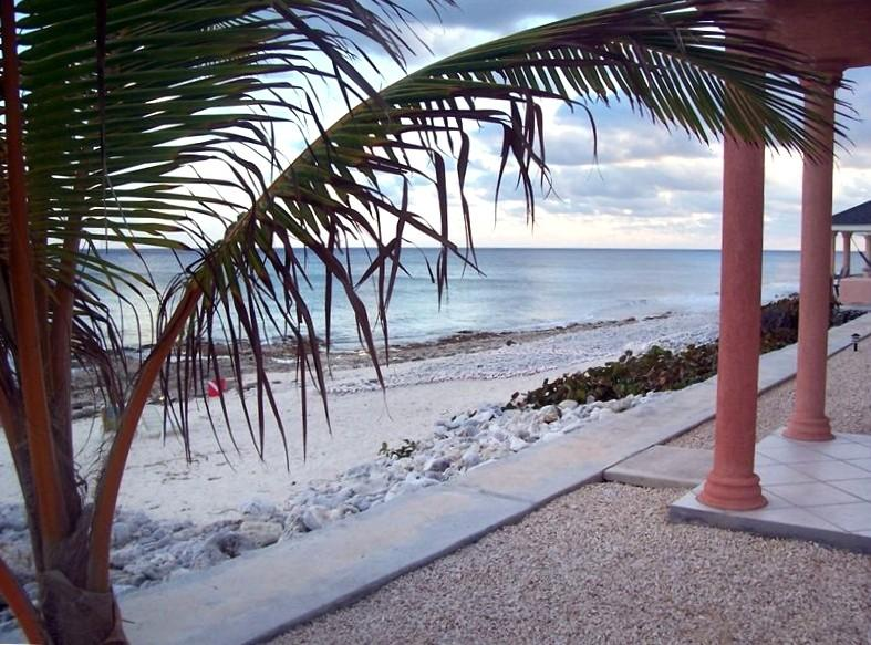Ocean front view from condo - Luxury Oceanfront Condos on Cayman Brac - Cayman Brac - rentals